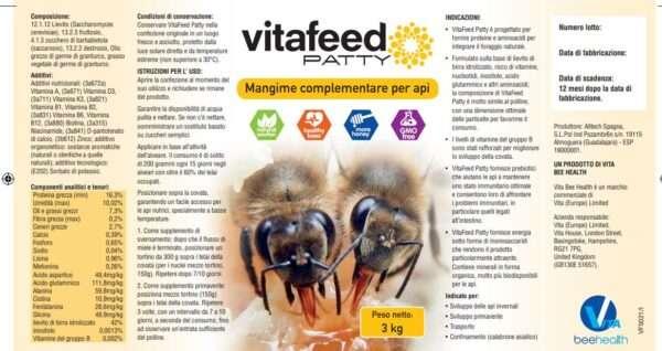 Candito Vitafeed Patty alimentazione proteica potenziata 3kg