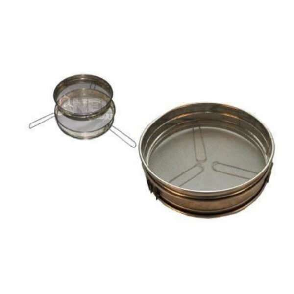 Filtro miele doppio con treppiede 23cm