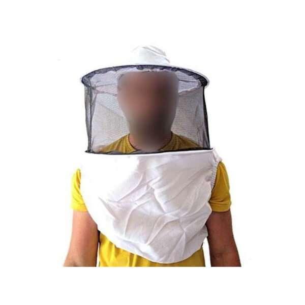 Maschera ascellare apicoltore in stoffa eco