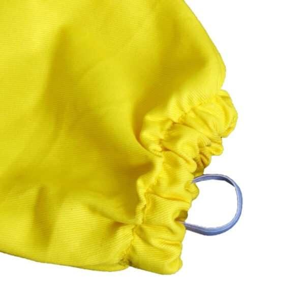 Camiciotto apicoltore con maschera rotonda in cotone