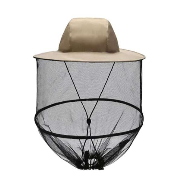Cappello a rete stile apicoltore per proteggersi dagli insetti