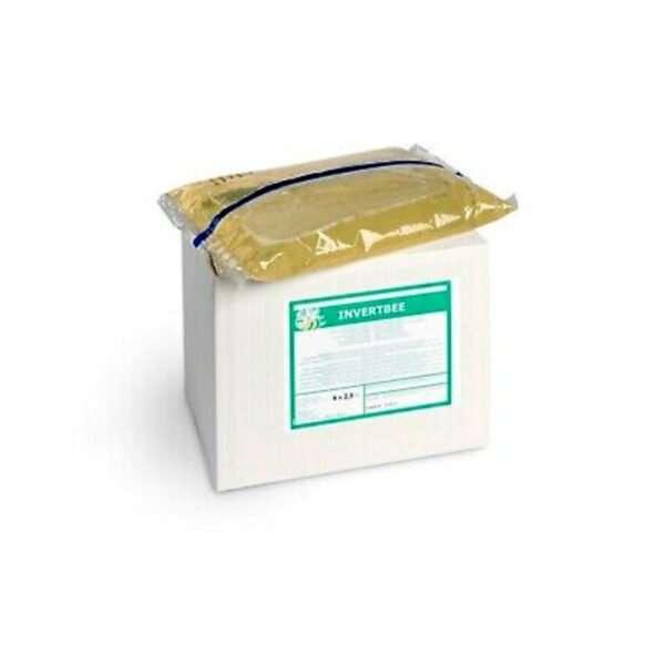 Sciroppo per api fruttosio e glucosio InvertBee sacche 4x2,5Kg