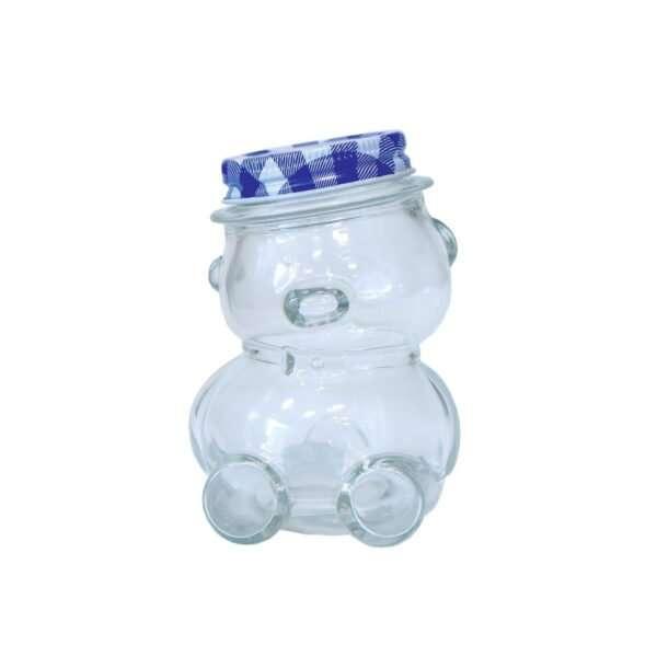 Vaso 210g, modello orsetto, con capsula